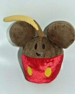Disney Parks Mickey Mouse Candy Apple Plush