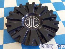 2 CRAVE Wheels [83] GLOSS BLACK Center Cap # N01-CAP  (QTY. 1)