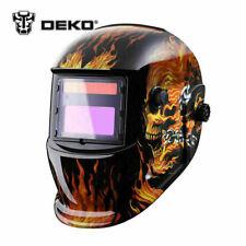 New ListingDeko Solar Auto Darkening Mig Mma Electric Welding Helmet welder Cap