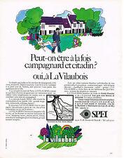 PUBLICITE  1970   SPEI    LA VILAUBOIS 2