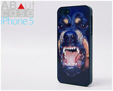 stylish iPhone 5 CASE CUSTOM DESIGN Trendy Animal print Angry Rottweiler