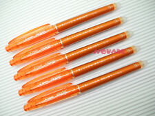 (Tracking no.) 10 x Pilot FriXion 0.4mm Needle Tip Rollerball Gel Pen, Orange