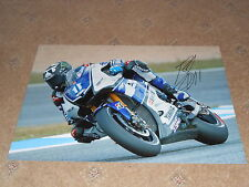Ben Spies Signed 2012 Yamaha Large Photo 18x12 2.