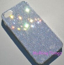 Tiny 9ss Clear Bling Back Case for iPhone 5SE 5S 5 made with Swarovski Crystals