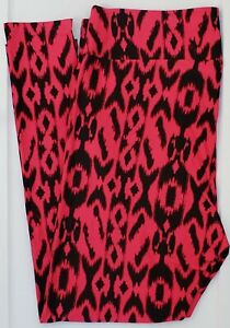 TC2 LuLaRoe Tall & Curvy2 Leggings Black Pink Cheetah Leopard Animal NWT F51