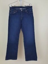 Lucky Brand Blue Denim Easy Rider Short Button Fly Z1MA071 Jeans Size 8 8S