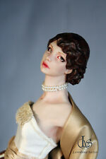 OOAK Art Doll,fantasy, FLORENCE, Handmade in Italy, sculpture,Loredana Salvo