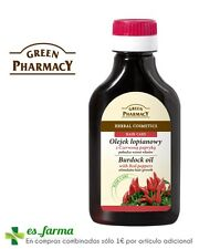 Green Pharmacy Burdock Oil With Red Peppers Stimulates Hair Growth 100ml