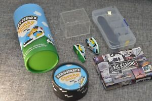 """Complete Fingerboard Setup with Mini SB Dunk Low """"Chunky Dunky"""" with Special Box"""