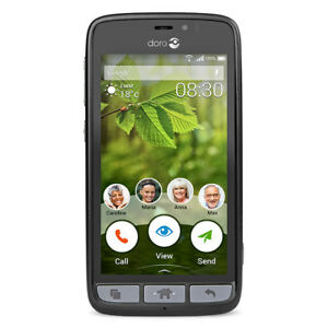 Doro 824 SmartEasy   8GB UNLOCKED AT&T/CRICKET   T-MOBILE/METROPCS Smartphone