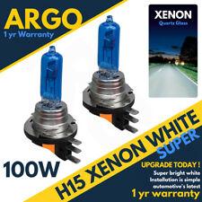 H15 Xenon White Headlight DRL 100w Effect Super Bright 715 Headllamp Light Bulbs