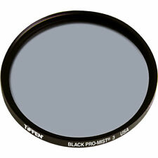 New Tiffen 55mm Black Pro-Mist 3 Glass Filter Promist MFR # 55BPM3