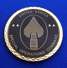 Special Operations Command Defense Intelligence Agency SOCOM DIA Challenge Coin
