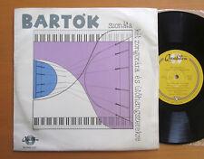"""Bartok Sonata Two Pianos & Percussion Qualiton 10"""" Vinyl HLP MK 1517"""