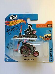 Hot Wheels Wheelie Chair 2020 Short Card, HW Ride-Ons, Aaron Wheelz, Brand New