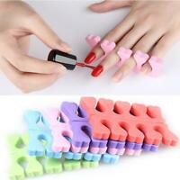 1* Finger Separator Manicure Tools Peach Heart Sponge Nail Art Accessories K0I3