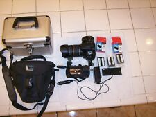 SONY a350 Digital Camera DSLR-A350 + SONY VG-B30AM VERTICAL BATTERY GRIP lot