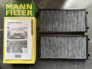 Cabin Filter Pollen Filter Mann CUK2941-2 BMW X5 X6