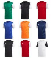 Adidas Estro Boys Football T Shirts Kids Sports Training Soccer Top TShirt