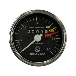 Tachometer Compatible with Case-IH 454 785 884 885 464 484 574 584, 3121926R91