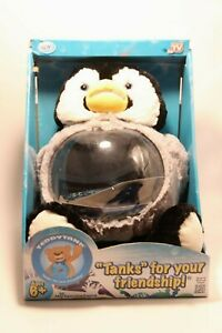 AS SEEN ON TV TEDDY TANK CHARMING PENGUIN TANKS FOR YOUR FRIENDSHIP! FISH TANK