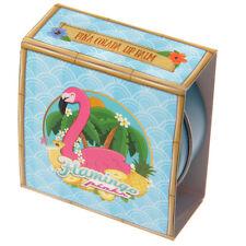 Pink Flamingo Tropical Lip Balm Tin - Watermelon Kisses or Pina Colada Flavour