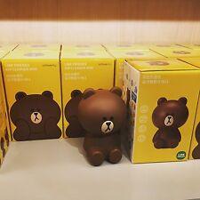 Korea LINE Friends Brown Mini USB Airsave Air Cleaner Air Purifier Mascot Gift