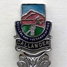 Callander Ben Ledi Saw The Cross Of Fire Souvenir Spoon Teaspoon (T137)