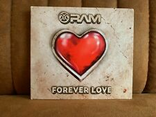 RAM ? Forever Love - MEGA RARE Trance cd album -  Black Hole Recordings - 2015