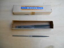 """Nicholson swiss pattern jewelers file 2 1/2"""" cut 0 NOS, price is for 1"""