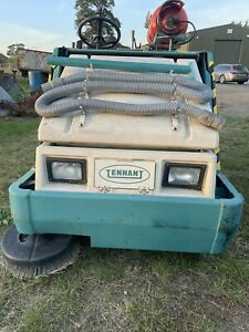 Tennant 6400 Used Road Gas Ride-On Sweeper