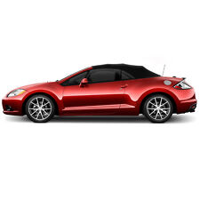 Mitsubishi Eclipse Convertible Soft Top Replacement 2006-2011 Black Twill