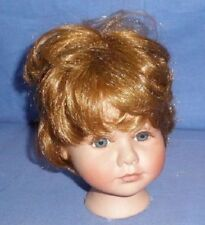 bisque head artist repro, to tie in, with wig