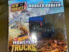Hot Wheels Monster Trucks. Radio Control Rodger Dodger No. 2450 Ages 4+