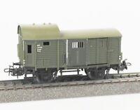 MÄRKLIN 4600 Spur H0 Güterzugbegleitwagen Pwg, DB, Ep.III, orange OVP, lesen!