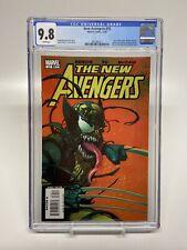 New Avengers 35 1st Venomized Wolverine CGC 9.8 Fresh Case