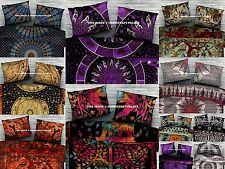10 PC Wholesale Lot Pillow Sham Cotton Boho Cushion Cover Ethnic Bed sofa Indian