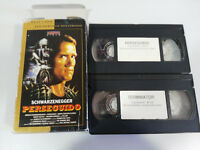 Terminator + Verfolgten Arnold Schwarzenegger Konvolut 2 X VHS Emil - Spanisch