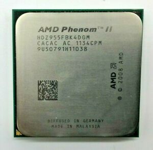 AMD Phenom II X4 955 HDZ955FBK4DGM - Quad Core - 3,20 GHz - Sockel AM2+/AM3 #554