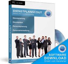 Software für Dienstplanung,Personalplanung,Arbeitszeiten,Dienste,Urlaub planen