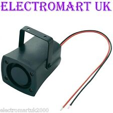 12V 12 VOLT MINI PIEZO SIREN SOUNDER ALARM CAR HOUSE BOAT LOUD 110dB