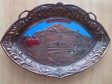 Washington State Pot Metal Pin Tray Trinkets Jewelry Mementos Souvenir Vintage