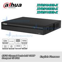 Dahua XVR5104/5108/5116HS-X 4/8/16CH HDCVI/AHD/TVI/CVBS/IP 5in1 1080P DVR H.265+