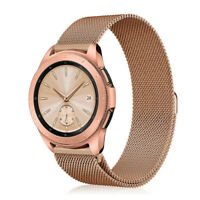 For Samsung Gear Sport SM-R600 / Gear S2 Classic 20mm Band Stainless Steel Strap