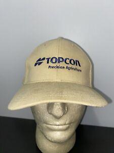 Vintage Topcon Precision Agriculture Farming Trucker Hat Baseball Cap Lid