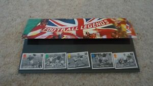 Football Legends postage stamps (1996)