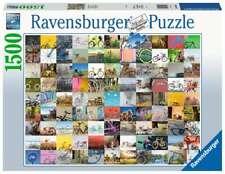 RAVENSBURGER PUZZLE*1500 TEILE*99 FAHRRÄDER UND MEHR*RARITÄT*NEU+OVP