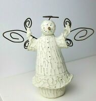Flurryville Collection Christmas Snowman Nativity Angel Figurine