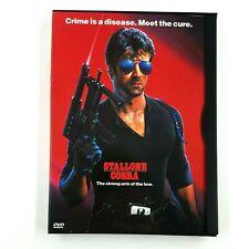 Cobra (DVD, 1998, Snapcase) Sylvester Stallone, Brigitte Nielsen RARE OOP