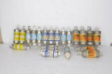Lot Of 21 Gould English Electric Gec Cia 10 Gia 15 Fes15 Fes20 50 Amp Fuses